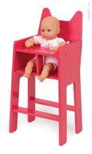 Stoličky pre bábiky - Drevená jedálenská stolička pre bábiku Babycat Janod _0