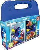Puzzle pre deti Hľadá sa Dory Educa v kufríku 2x20 dielov