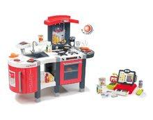 Kuchynky pre deti sety - Set kuchynka Tefal SuperChef Smoby s grilom a kávovarom a elektronická dotyková pokladňa_35