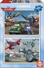 Dětské puzzle Disney Letadla Educa 2x100 dílů od 5 let