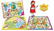 Společenské hry pro děti - Klasická společenská hra Červená Karkulka Dohány 2 hrací desky od 5 let_0