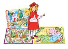 Společenské hry pro děti - Klasická společenská hra Červená Karkulka Dohány 2 hrací desky od 5 let_1