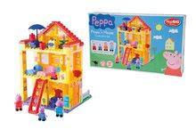 BIG 57078 stavebnica PlayBIG Bloxx Peppa Pig rodinka v domčeku so 4 figúrkami 107 dielov od 18 mesiacov