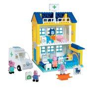 BIG 57081 stavebnica PlayBIG Bloxx Peppa Pig v nemocnici 4 figúrky 112 dielov od 18 mesiacov