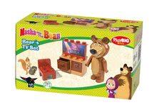 Stavebnice BIG-Bloxx ako lego - Stavebnica Miša v obývačke s TV PlayBIG Bloxx BIG 7-11 dielov od 1,5-5 rokov_0