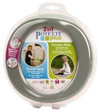 Utazó bili/szűkítő WC-re Potette Plus szürke-fehér 27985