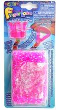 Finger Loom Rainbow Loom 600 bucăţi roz