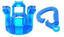 Rainbow Finger Loom - Finger Loom Rainbow Loom modrý 600 kusov_0