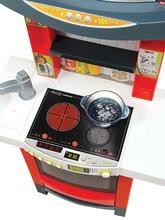 Elektronické kuchynky - Elektronická kuchynka Tefal Magic Bubble Cook'tronic Smoby s magickým bublaním so svetlom a zvukmi a 21 doplnkov_1