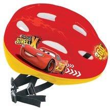 Detské prilby - Cyklistická prilba Autá Mondo veľkosť 52-56 červeno-žltá_0