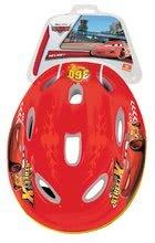 Detské prilby - Cyklistická prilba Autá Mondo veľkosť 52-56 červeno-žltá_1