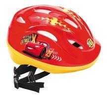 Detské prilby - Cyklistická prilba Autá Mondo veľkosť 52-56 červeno-žltá_2