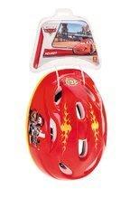 Detské prilby - Cyklistická prilba Autá Mondo veľkosť 52-56 červeno-žltá_3