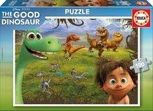 Detské puzzle Dobrý dinosaurus Educa 100 dielov od 5 rokov