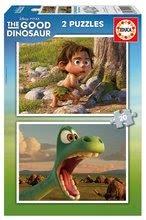 Puzzle Dobrý dinosaurus Educa 2x 20 dielov