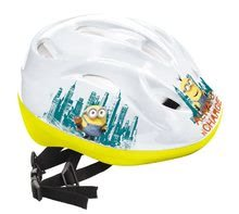 Detské prilby - Prilba Mimoni Mondo veľkosť 52-56 bielo-žltá_3
