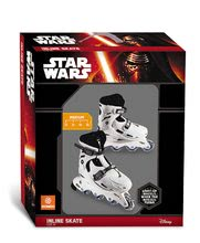 Detské kolieskové korčule - Kolieskové korčule In Line Star Wars Mondo svietiace veľkosť 33-36 od 5 rokov_1