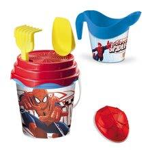 Vedierka do piesku - Batoh s vedro setom Spiderman Mondo (výška vedra 17 cm) od 18 mes_3