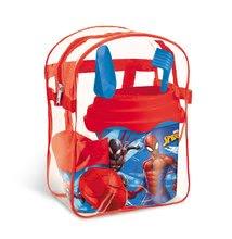 Vedierka do piesku - Batoh s vedro setom Spiderman Mondo (výška vedra 17 cm) od 18 mes_1