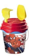 Vedierka do piesku - Batoh s vedro setom Spiderman Mondo (výška vedra 17 cm) od 18 mes_4