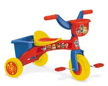 Babytaxiu cu pedale Paw Patrol Mondo din plastic de la 2 ani