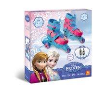 Detské kolieskové korčule - Kolieskové korčule Frozen Mondo inline veľkosť 29-32 3-kolieskové od 5 rokov_2