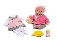 Staré položky - Set kuchynka Máša a medveď Smoby s kávovarom, športový kočík pre bábiku (55 cm rúčka) a bábika so šatôčkami_6