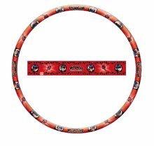 Kruh na cvičenie Hula Hoop Miraculous Mondo priemer 80 cm červený