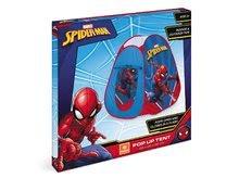 Dětské stany - Stan Spiderman Pop Up Mondo s okrouhlou taškou červenou_1