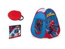 Dětské stany - Stan Spiderman Pop Up Mondo s okrouhlou taškou červenou_2