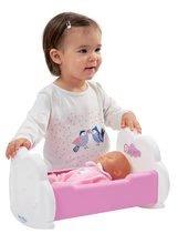 Dětská chodítka - Set chodítko a kočárek pro panenku 3v1 MiniKiss Smoby s pečovatelským pultem se židlí a kolébka s vaničkou_8