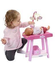 Dětská chodítka - Set chodítko a kočárek pro panenku 3v1 MiniKiss Smoby s pečovatelským pultem se židlí a kolébka s vaničkou_5