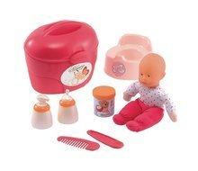 Doplňky pro panenky - Vozík s panenkou Nursery Écoiffier na kolečkách s doplňky_0