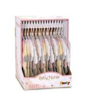 Kočíky pre bábiky sety - Set kočík pre bábiku Frozen Smoby hlboký (54 cm rúčka), bábika Baby Nurse 32 cm a 3 šatôčky od 18 mes_5
