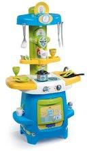 Bucătărie cu aripi, care se pot deschide şi aparat de cafea Peppa Pig Smoby 22 accesorii