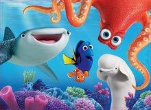 Drevené Disney puzzle - Drevené puzzle Hľadá sa Dory Educa 100 dielov od 5 rokov_0