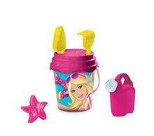 Kbelíky do písku - Kbelík set s konví Barbie Mondo 7 dílů (výška kbelíku 17 cm)_1