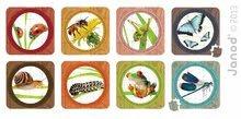 Detské puzzle do 100 dielov - Obojstranné puzzle Záhrada Janod v kufríku 16-20-24-30 dielov od 3 - 7 rokov_0