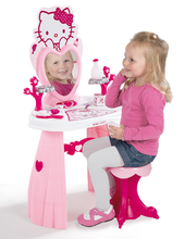 Staré položky - Kozmetický stolík Hello Kitty 2v1 Smoby so stoličkou a 9 doplnkami_1