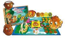Společenské hry pro děti - Společenská hra Tropická zahrada Dohány figurky, kostka a hrací plocha od 4 let_0