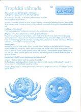 Společenské hry pro děti - Společenská hra Tropická zahrada Dohány figurky, kostka a hrací plocha od 4 let_2
