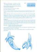 Společenské hry pro děti - Společenská hra Tropická zahrada Dohány figurky, kostka a hrací plocha od 4 let_3