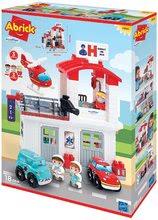 Slagalice Abrick - Slagalica Bolnica Hospital Abrick Ecoiffier s 3 vozila i 3 figurice od 18 mjes_1