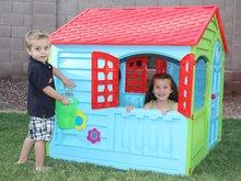 Domčeky pre deti - Domček Happy House PalPlay zeleno-modrý od 24 mes_1
