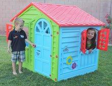 Domčeky pre deti - Domček Happy House PalPlay zeleno-modrý od 24 mes_2