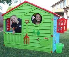 Domčeky pre deti - Domček Happy House PalPlay zeleno-modrý od 24 mes_3