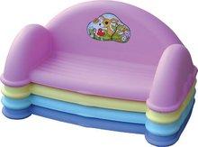 Detský záhradný nábytok - Pohovka PalPlay s úložným priestorom pre hračky fialová_0