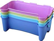 Detský záhradný nábytok - Pohovka PalPlay s úložným priestorom pre hračky fialová_1