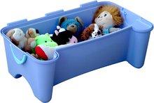 Detský záhradný nábytok - Pohovka PalPlay s úložným priestorom pre hračky fialová_2