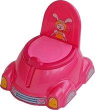 Nočníky a redukcie na toaletu - Nočník auto chrobáčik PalPlay ružový od 12 mes_1